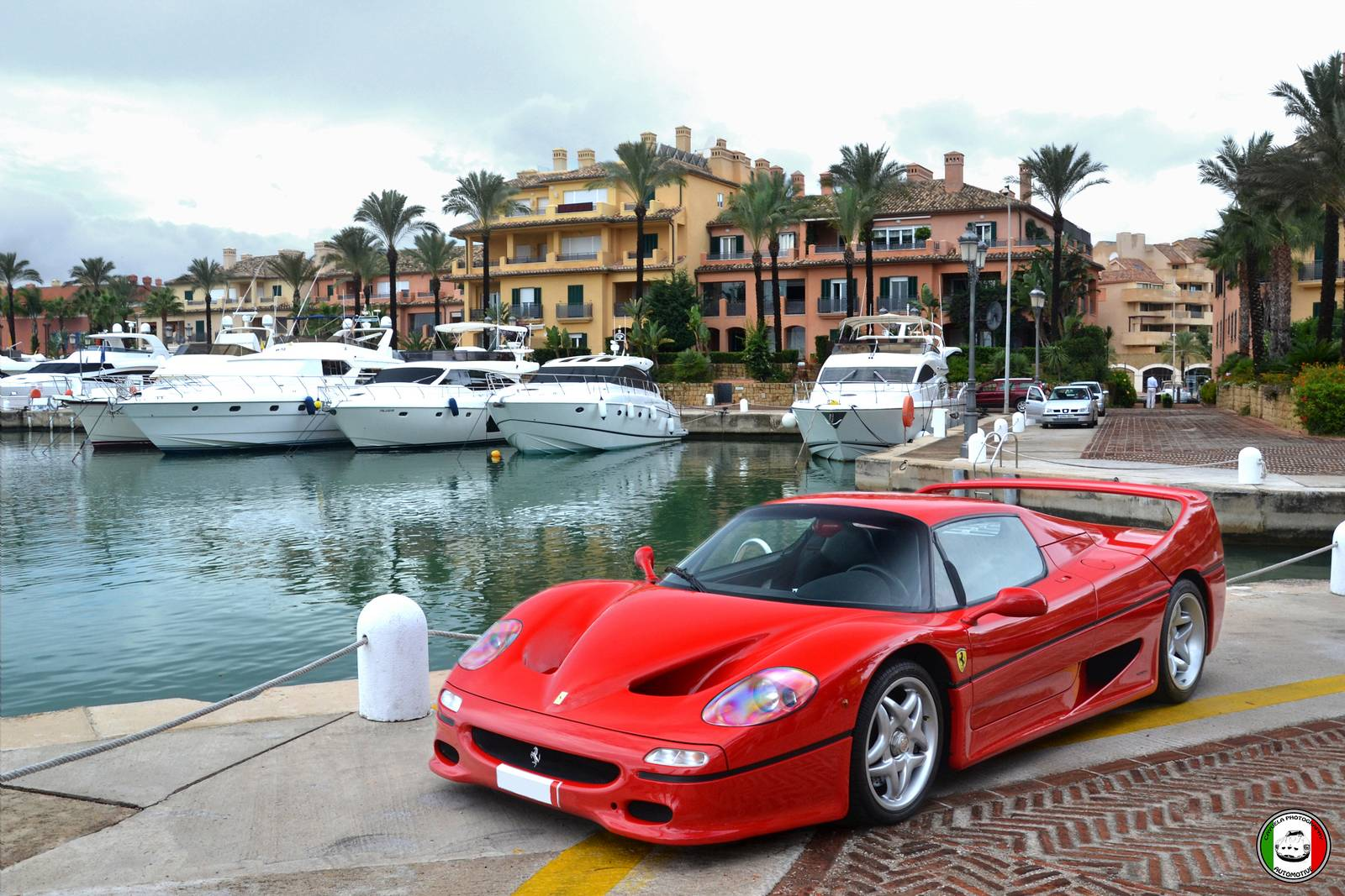 Photo Of The Day Ferrari F50 Photoshoot In Spain Gtspirit