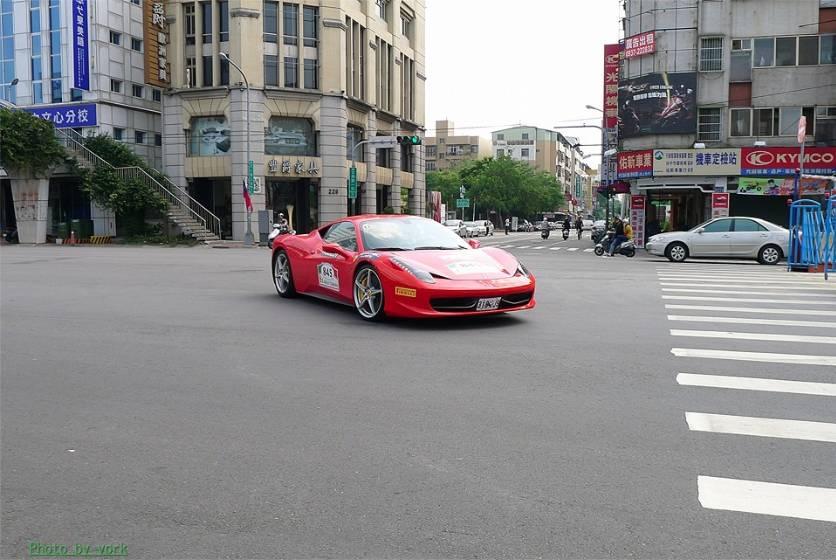 5th Ferrari Rally Taiwan