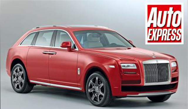 Rolls-Royce Designers Begin Work on SUV
