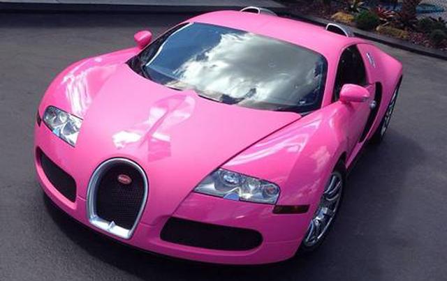 pink and black car bugatti and lamborghini - Lamborghini Black And Pink