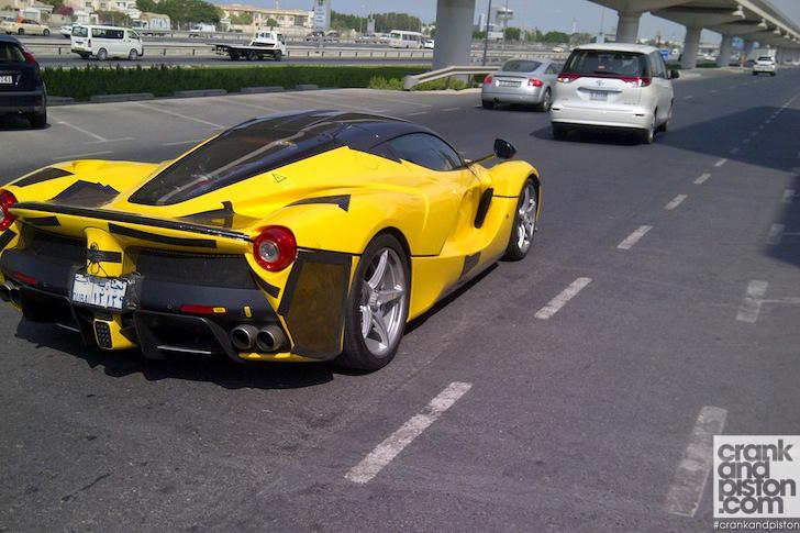 Yellow 2014 LaFerrari Spotted in Dubai