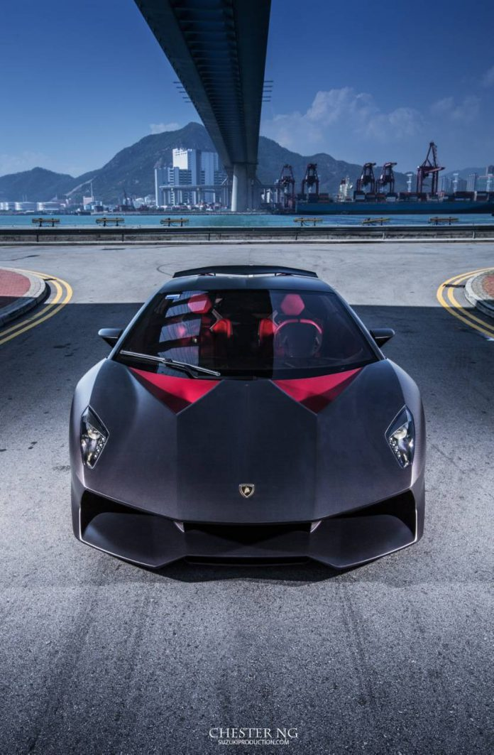 Lamborghini Sesto Elemento in Hong Kong