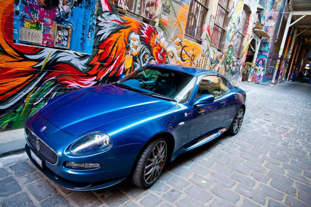 Maserati Gransport MC Victory Photoshoot in Melbourne