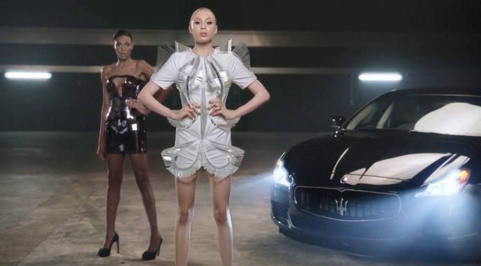 Maserati Quattroporte and Naomi Campbell