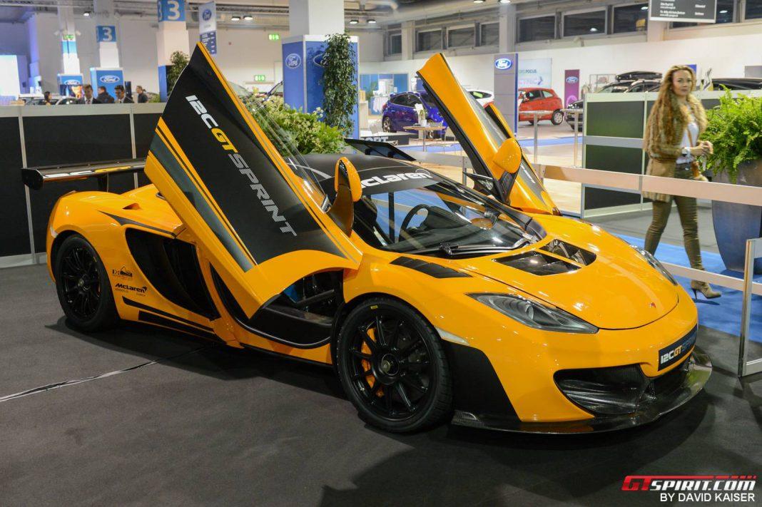 McLaren 12C GT Sprint at Auto Zurich 2013