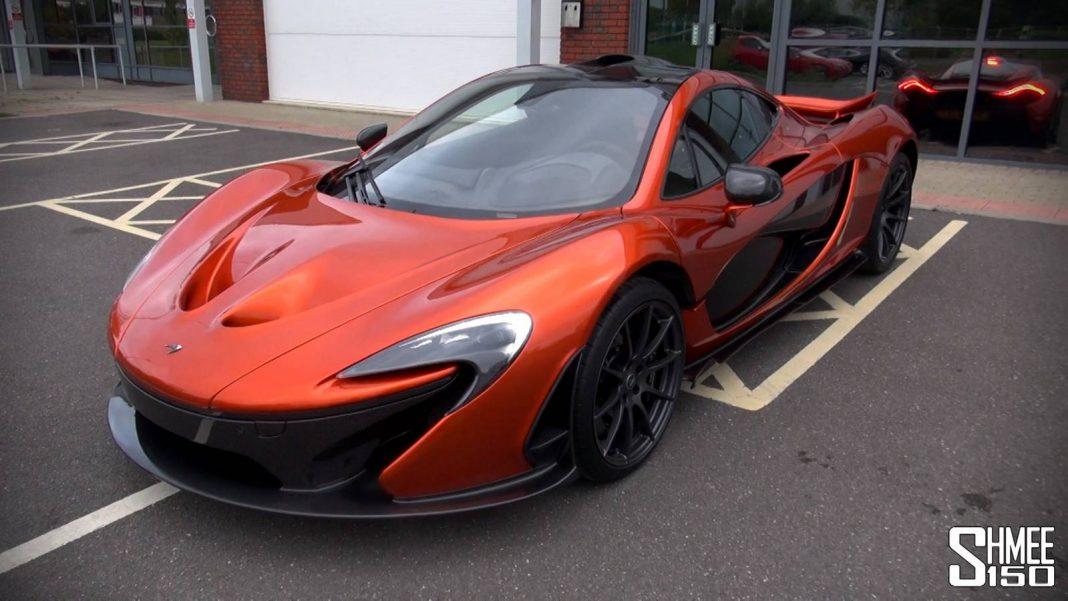 McLaren P1 Accelerations