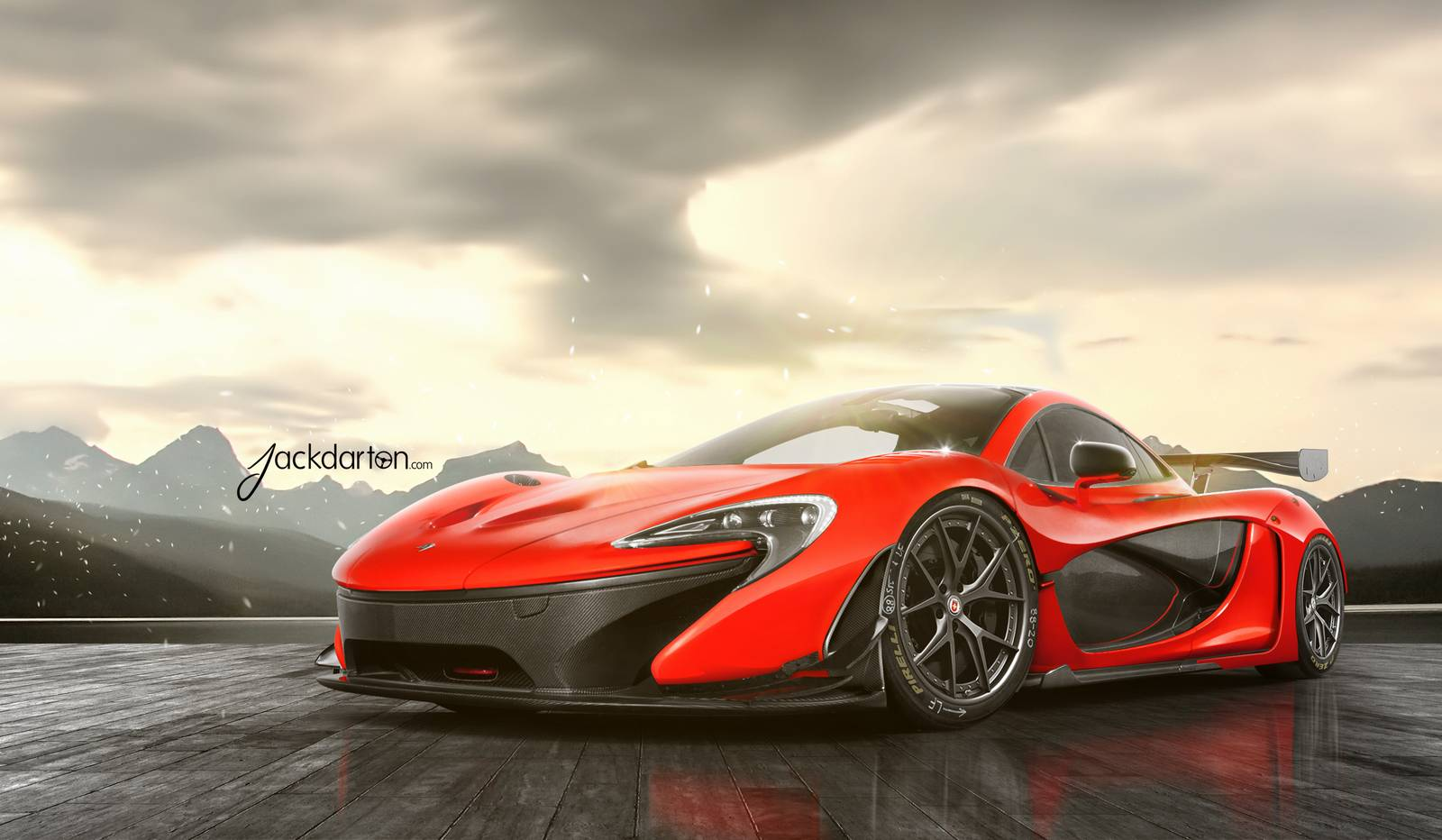 racing inspired mclaren p1 with hre wheels is stunning gtspirit. Black Bedroom Furniture Sets. Home Design Ideas