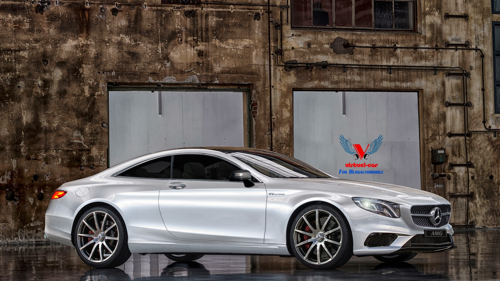 2015 mercedes benz s63 amg coupe comes to virtual life. Black Bedroom Furniture Sets. Home Design Ideas