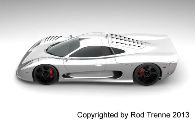Copyrighted Mosler MT900 CAD Renderings Could be Yours for $1.3 Million