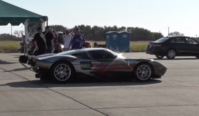 2000hp Ford GT Hits 278.2mph for Texas Mile Record