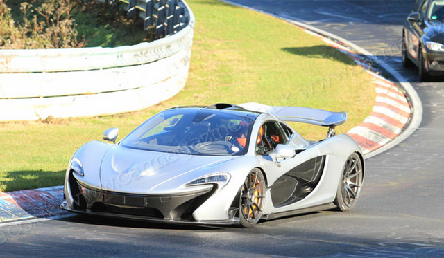 McLaren P1 Heads Back to Nurburging With Record in Mind