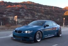 Hear a Liberty Walk BMW M3 Roar!