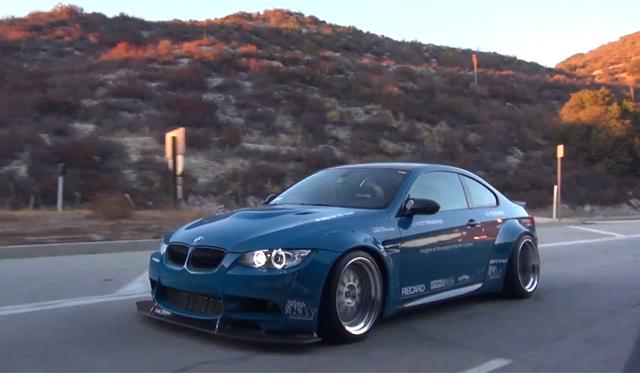 Hear a Liberty Walk BMW M3 Roar!