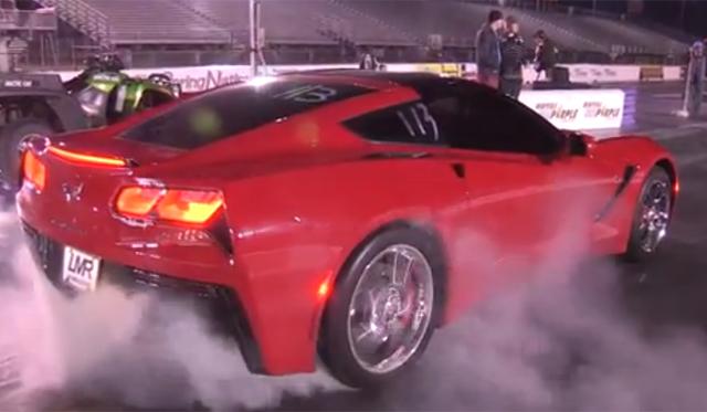 Red 2014 Chevrolet Corvette Stingray Clocks 11.47 at the Quarter Mile