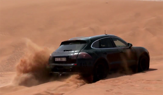 Watch the Porsche Macan's Desert Testing in L.A.