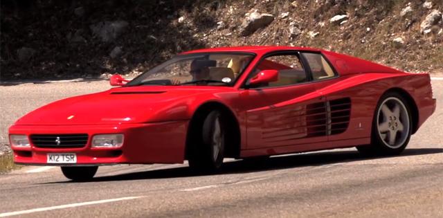 Chris Harris Makes Errands Fun in Ferrari 512 TR