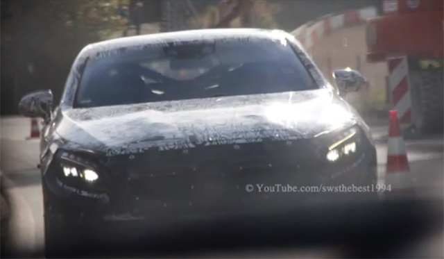 2015 Mercedes-Benz S63 AMG Coupe Filmed Testing