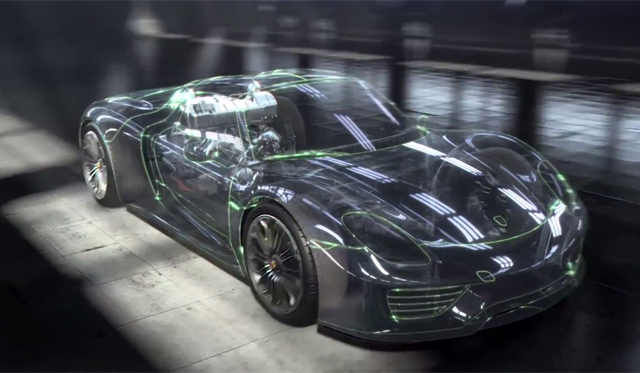 Porsche 918 Spyder Engine Explained