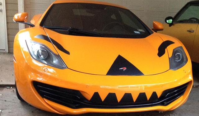 McLaren 12C Receives Halloween Inspired Outfit