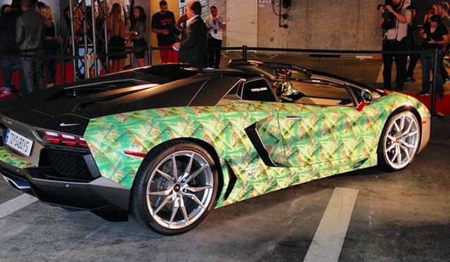 Lamborghini Aventadors Don't Come More Unique Than This Nike Inspired One