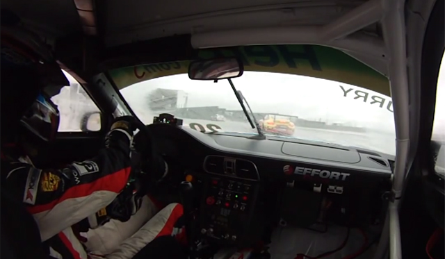 Wet Lap of Circuit of the Americas in Porsche GT3 Cup