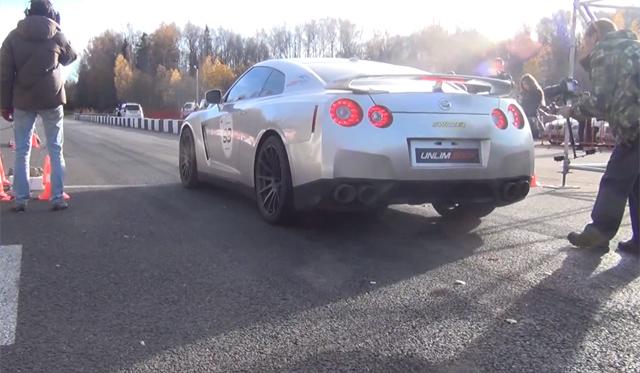 Ride Inside a 1800hp Nissan GT-R