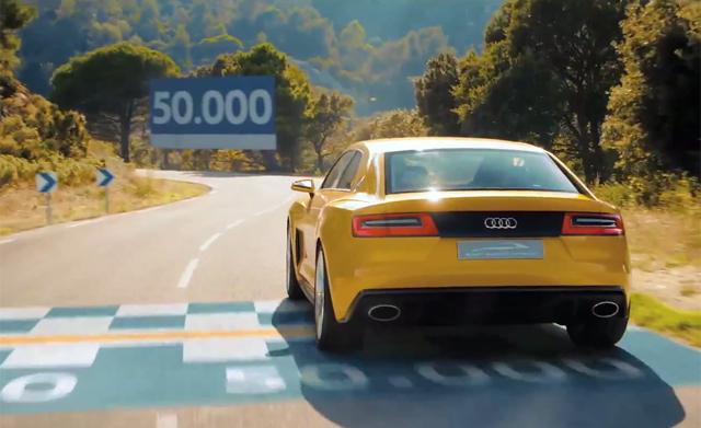 2013 Audi Sport Quattro Stars in Latest Trailer