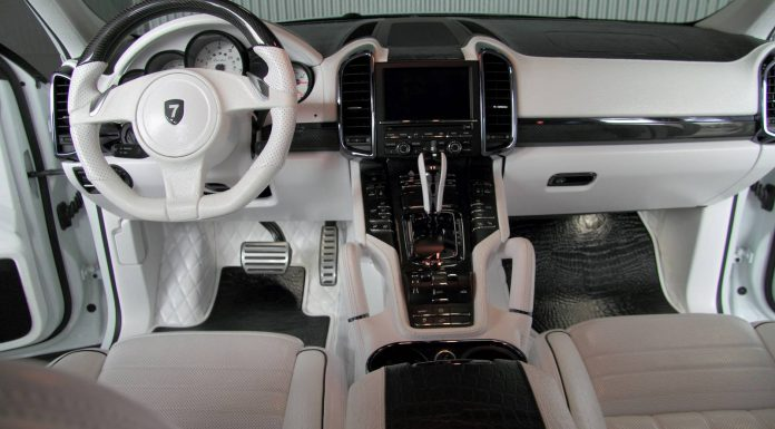 Porsche Cayenne White Dream Edition by Anderson Germany