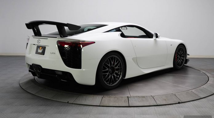 2012 Lexus LFA Nurburgring Edition Being Sold With no Reserve