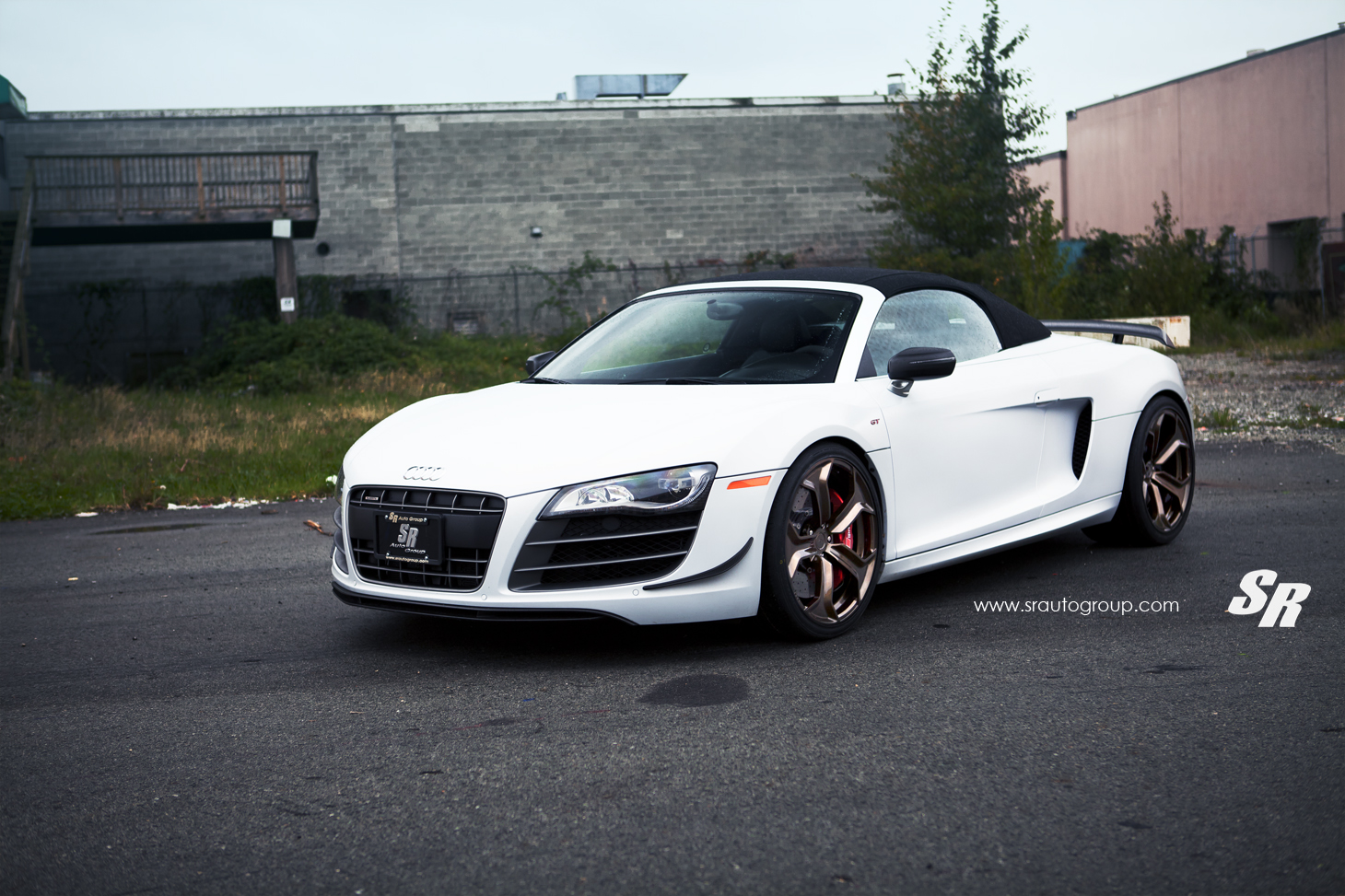 audi r8 gt spyder rolling on pur wheels gtspirit. Black Bedroom Furniture Sets. Home Design Ideas