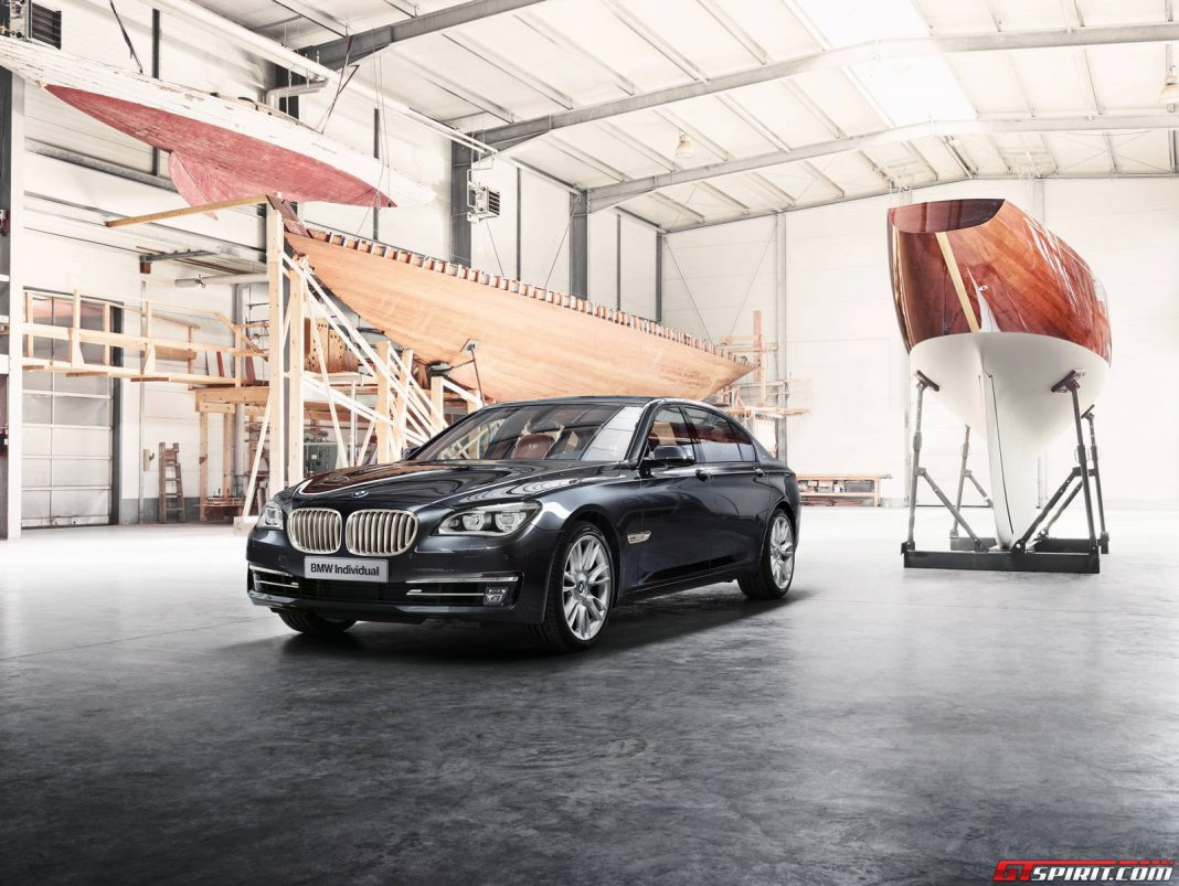 Official: BMW Individual 760Li Sterling Inspired by Robbe & Berking