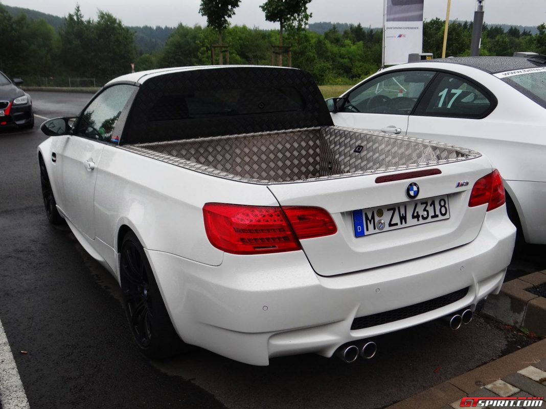 BMW M3 Pick-up at the Ring