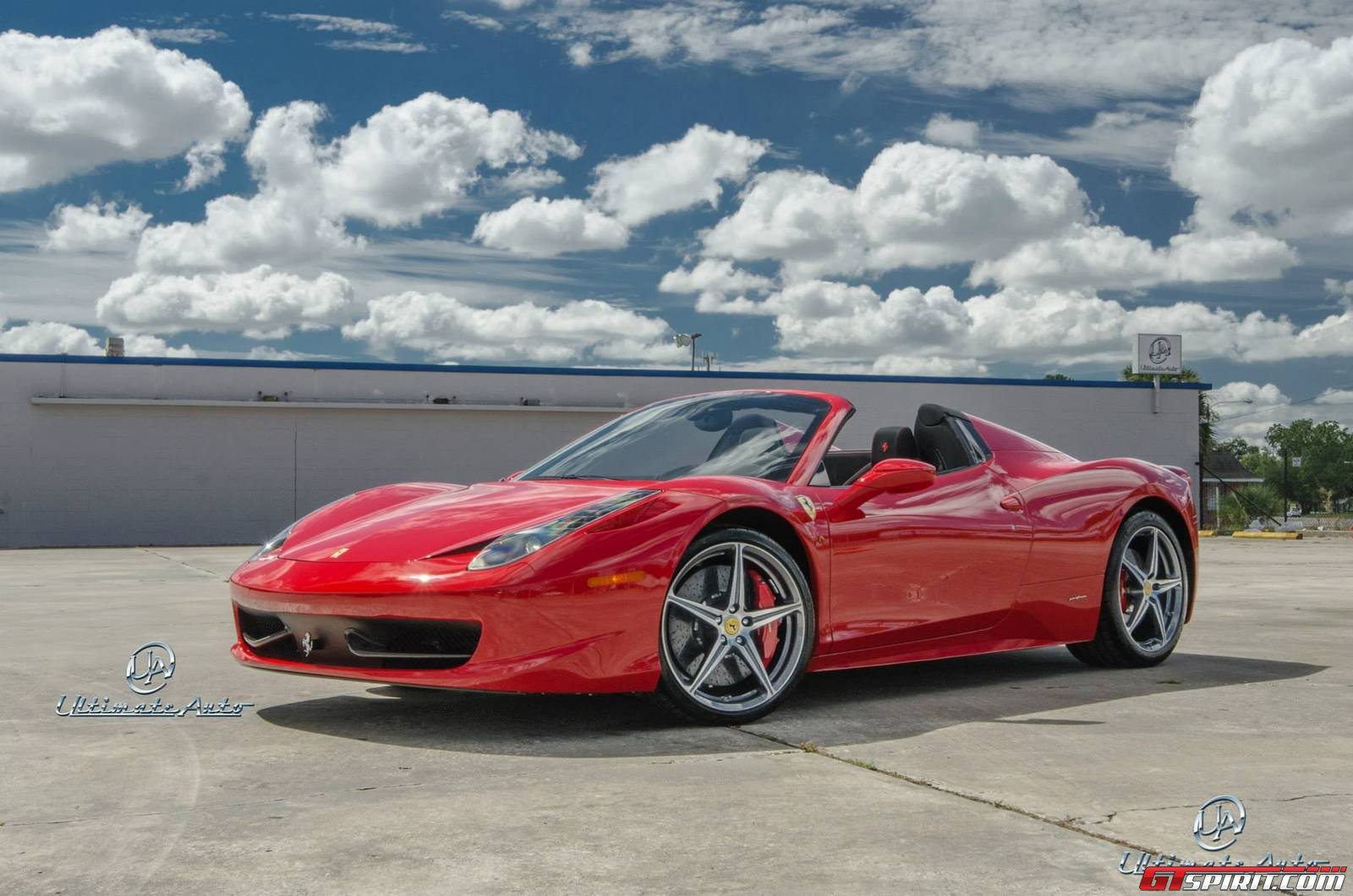 458 red cars - photo #47