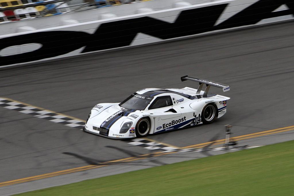 Ford Racing EcoBoost Prototype Sets Record 222.9mph Daytona Lap