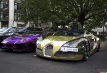 Chrome Supercars - Bugatti Veyron and Lamborghini Aventador