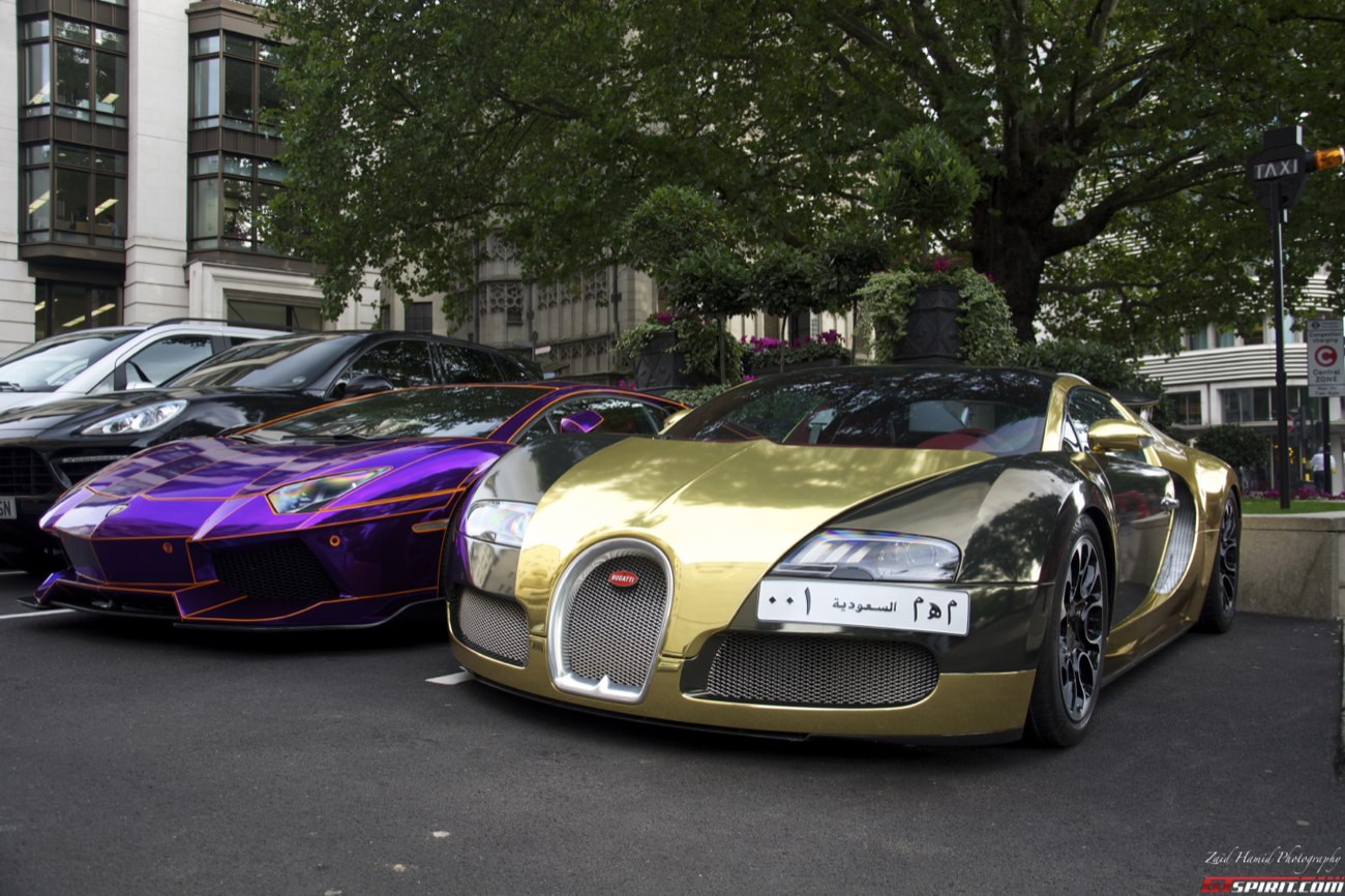 chrome supercars shine in london! - gtspirit