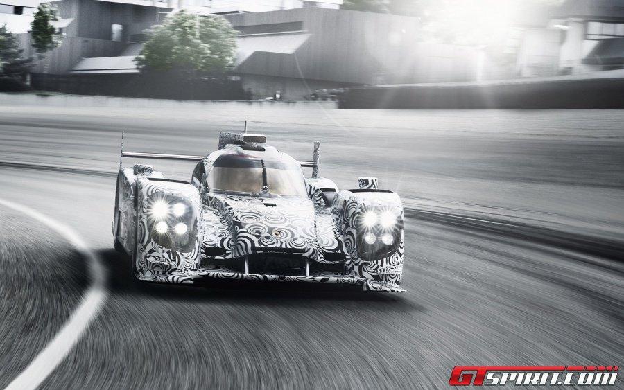 2014 Porsche LMP1 Racecar