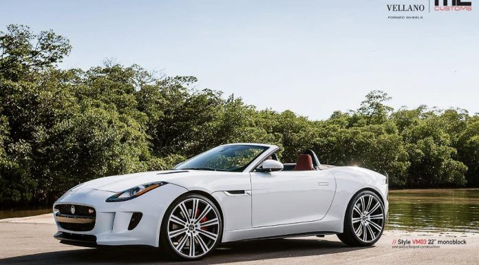 Jaguar F-Type with Vellano Wheels