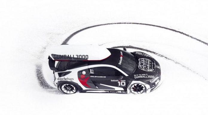 Jon Olsson Audi R8 in Austria