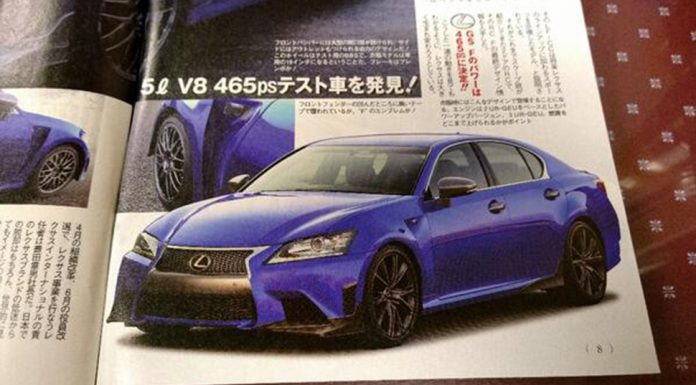 Lexus GS F Leaks in Japanese Magazine
