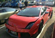 Lamborghini Gallardo LP570-4 Super Trofeo Stradale Crashes in China
