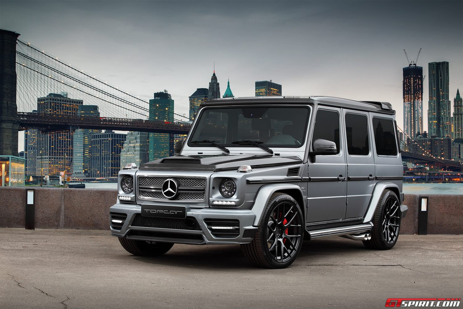 Mansory mercedes benz g 65 amg by topcar gtspirit for Mercedes benz g class amg
