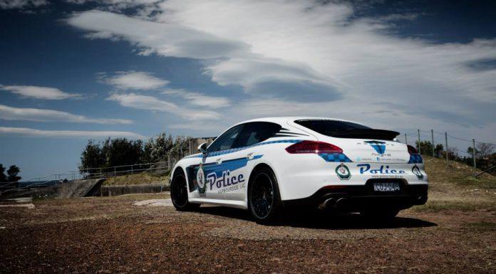 Australia's Porsche Panamera 'Police' Car