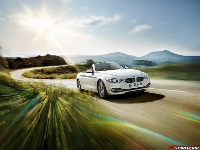 Official: 2014 BMW 4-Series Convertible