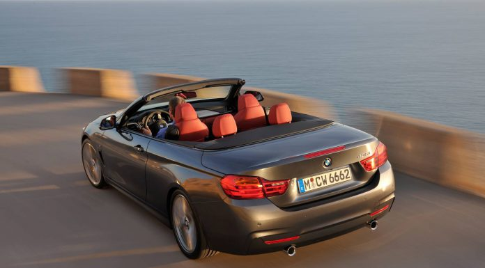 2014 BMW 4-Series Convertible Confirmed for L.A Debut