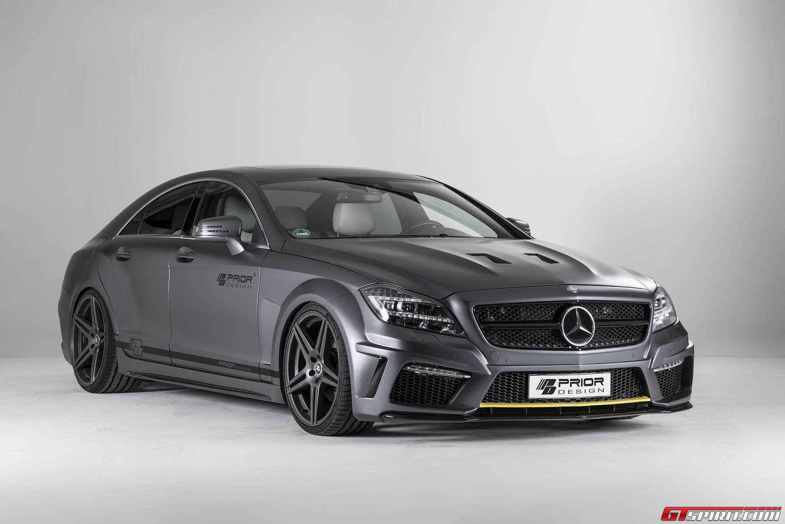 Official Prior Design Mercedes Cls Pd550 Black Edition