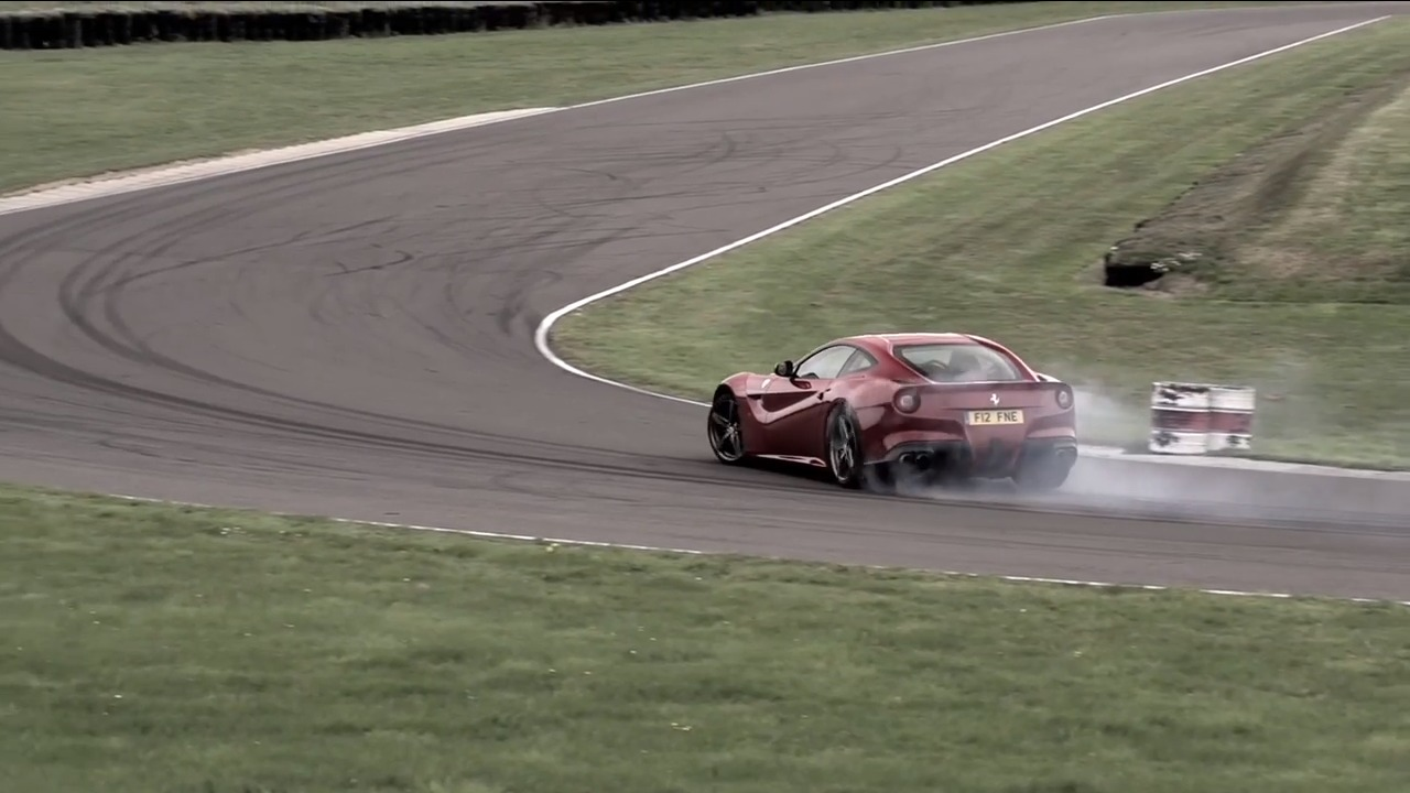 Video Chris Harris Goes Drifting In A Ferrari F12 Berlinetta Gtspirit