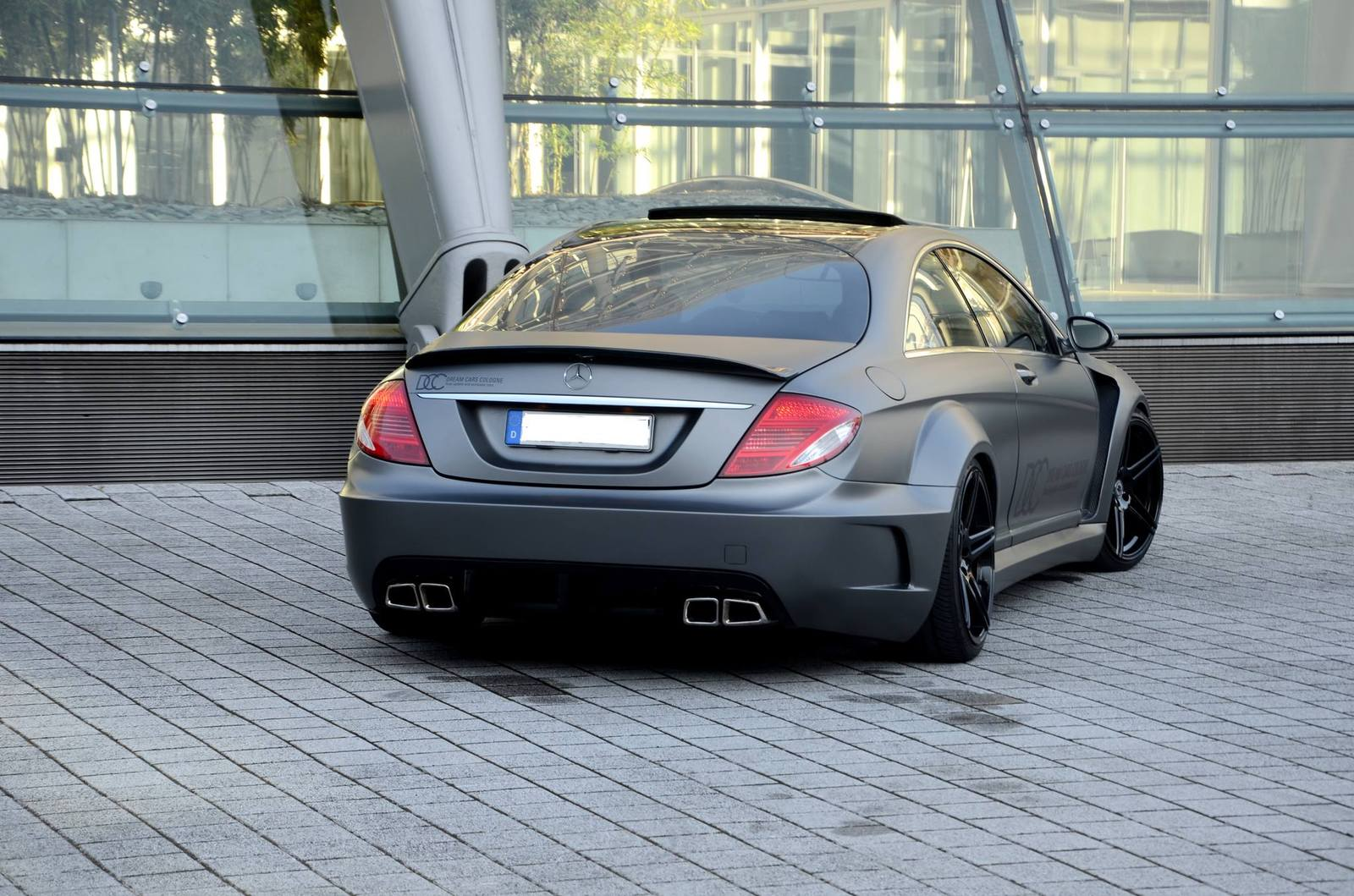 photo of the day prior design mercedes cl63 amg gtspirit. Black Bedroom Furniture Sets. Home Design Ideas