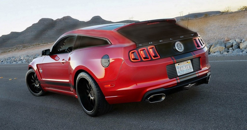 Shelby Mustang GT350 Shooting Brake Has Potential