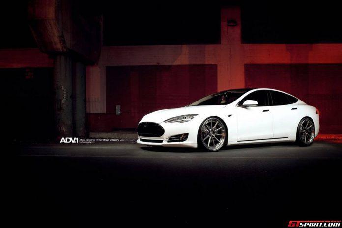 Tesla Model S with ADV.1 Wheels